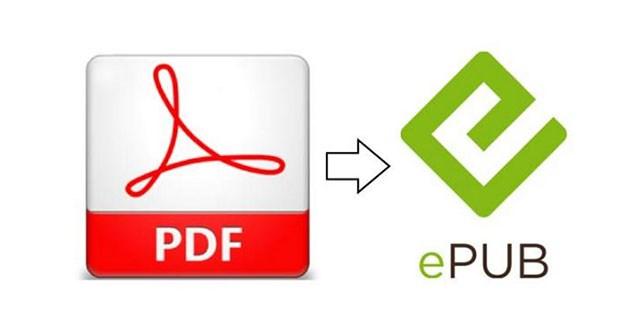 Chuyển đổi định dạng PDF thành EPUB, MOBI hoặc HTML