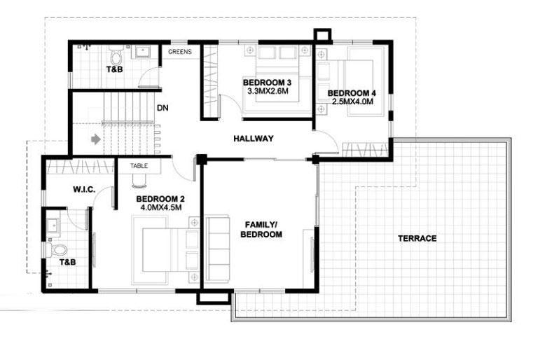 Biệt thự 2 tầng có sân vườn 4