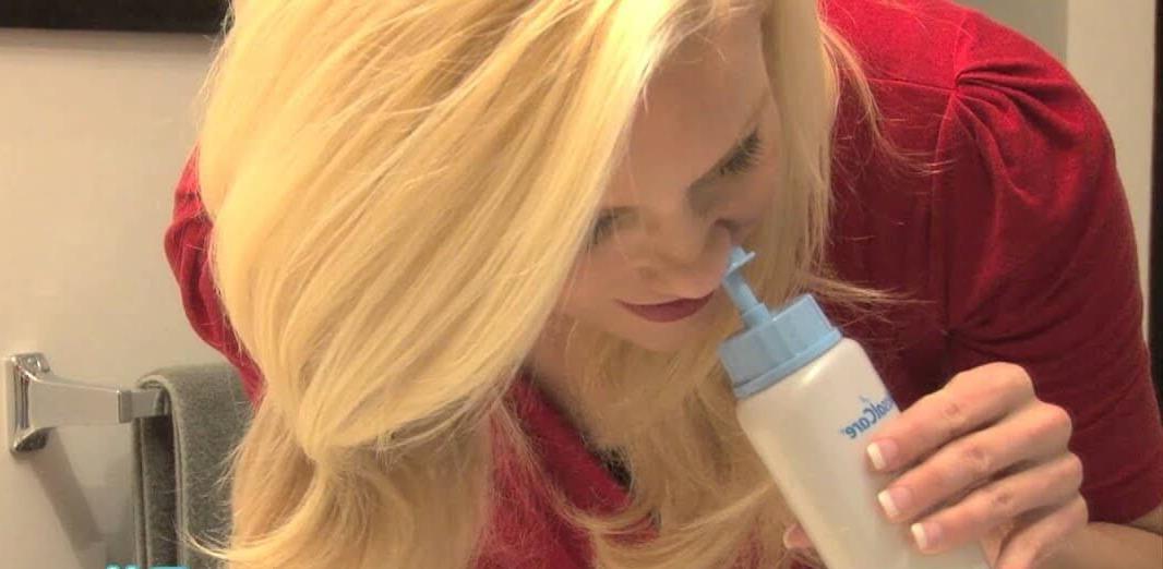 Hướng dẫn sử dụng bình rửa mũi Nasal Rinse