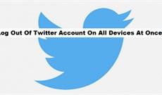 Cách đăng xuất tài khoản Twitter từ xa