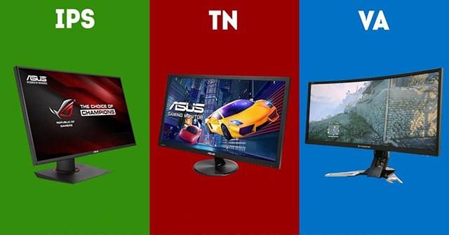 Điểm khác biệt giữa các công nghệ panel của LCD
