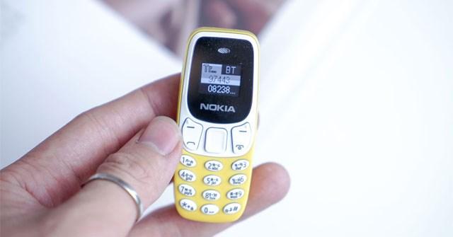 Trải nghiệm điện thoại siêu nhỏ 2 sim 2 sóng, kết nối được với smartphone