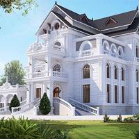 Những mẫu biệt thự kiểu Pháp đẹp