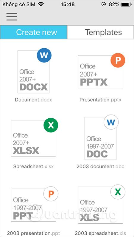 Chọn loại tài liệu