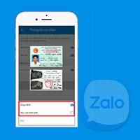 Cách làm CCCD trên Zalo, làm căn cước công dân trên Zalo