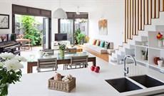 Những mẫu thiết kế phòng khách có cầu thang đẹp