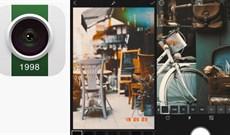 Mời tải 1998 Cam, ứng dụng chụp ảnh, quay phim theo phong cách hoạt cổ dành cho iPhone, đang miễn phí