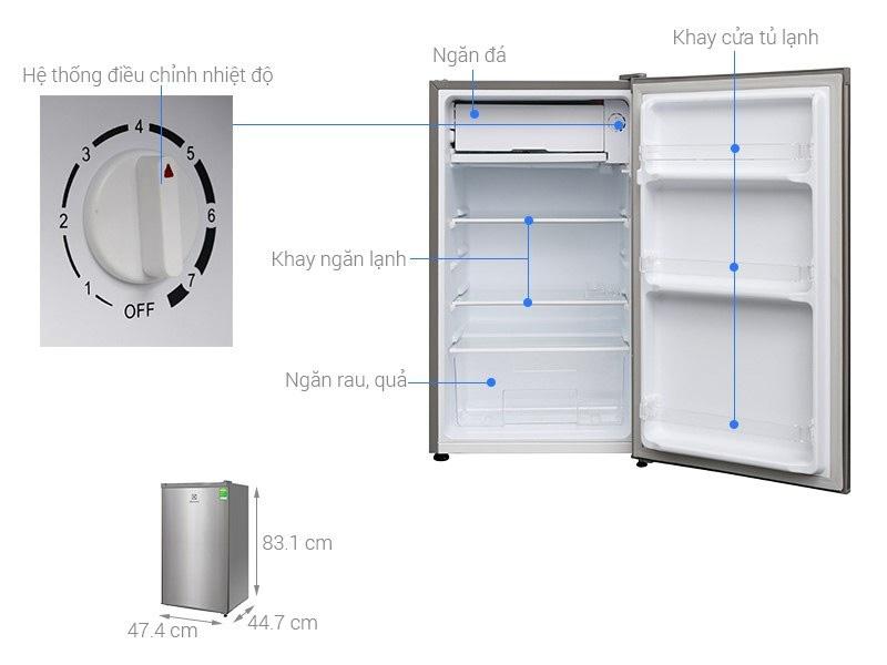 Tủ lạnh Electrolux 85 lít