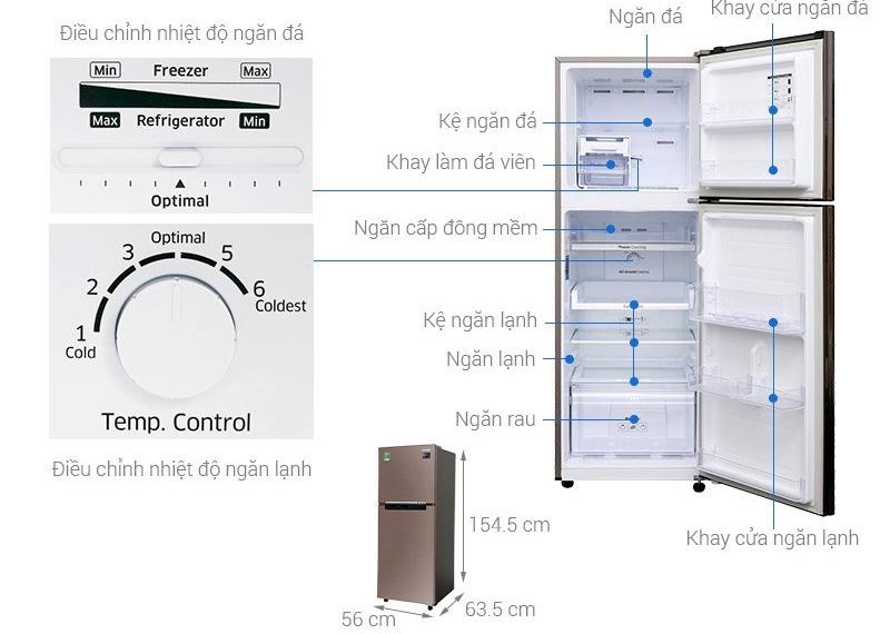 Tủ lạnh 236 lít Samsung