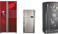 Kích thước các dòng tủ lạnh mini, 2 cánh, side by side… của Panasonic, Sharp, Samsung, Toshiba, Hitachi, LG là bao nhiêu