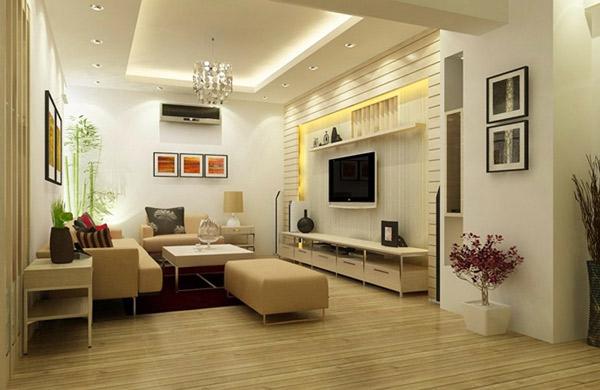 Mẫu thiết kế phòng khách nhỏ đẹp 10