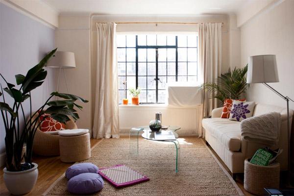 Mẫu thiết kế phòng khách nhỏ đẹp 12