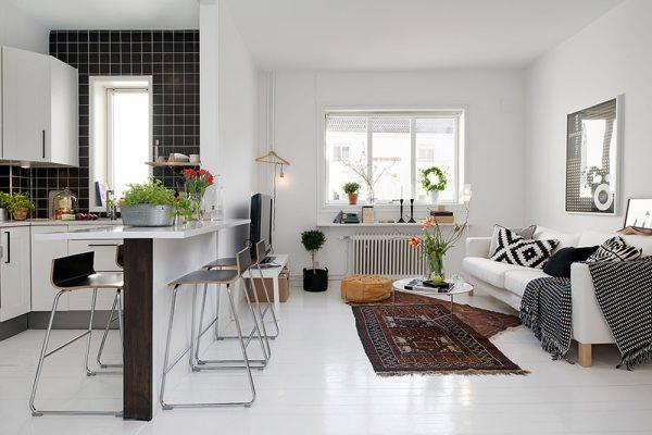 Mẫu thiết kế phòng khách nhỏ đẹp 2