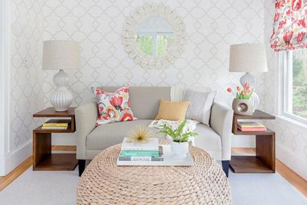 Mẫu thiết kế phòng khách nhỏ đẹp 23