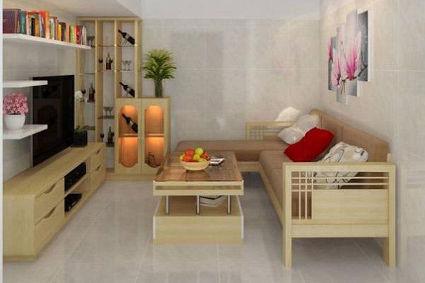 Mẫu thiết kế phòng khách nhỏ đẹp 25