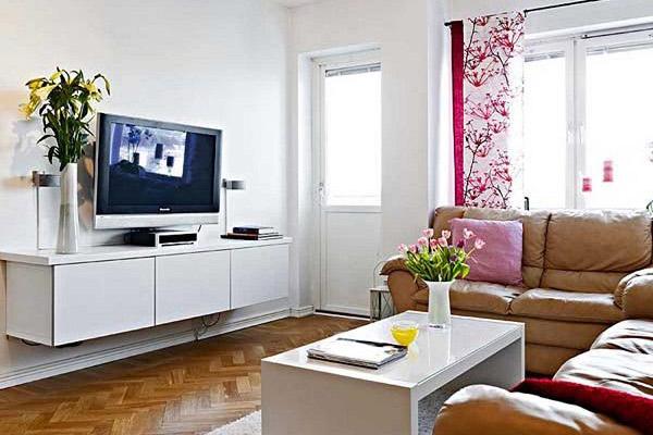 Mẫu thiết kế phòng khách nhỏ đẹp 18