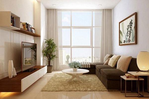 Mẫu thiết kế phòng khách nhỏ đẹp21