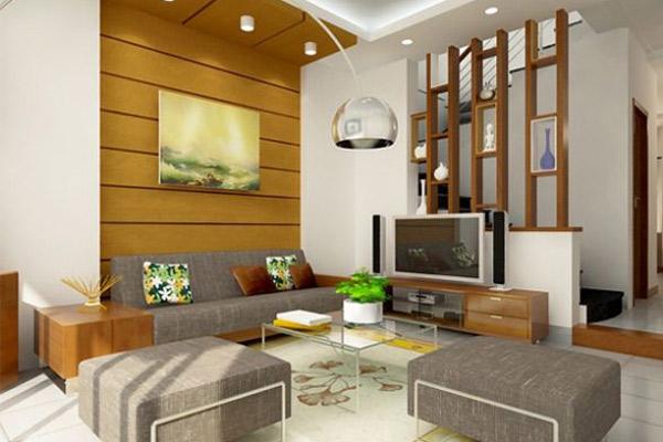 Mẫu thiết kế phòng khách nhỏ đẹp 24