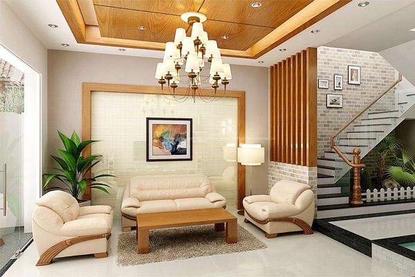 Mẫu thiết kế phòng khách nhỏ đẹp 16