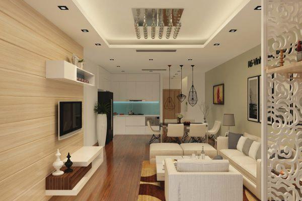 Mẫu thiết kế phòng khách nhỏ đẹp 27