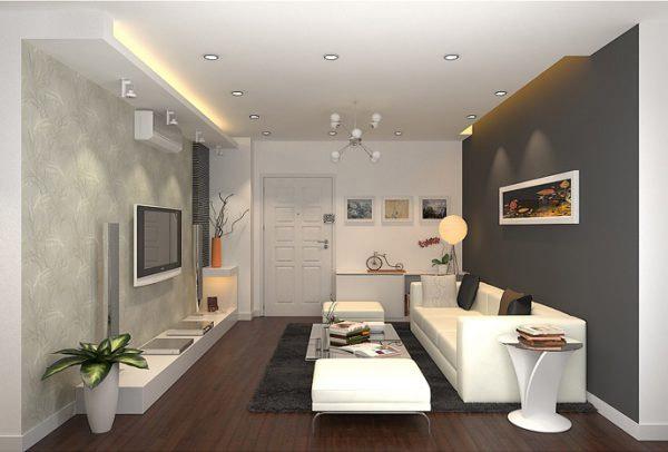 Mẫu thiết kế phòng khách nhỏ đẹp 3