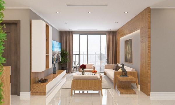 Mẫu thiết kế phòng khách nhỏ đẹp 4