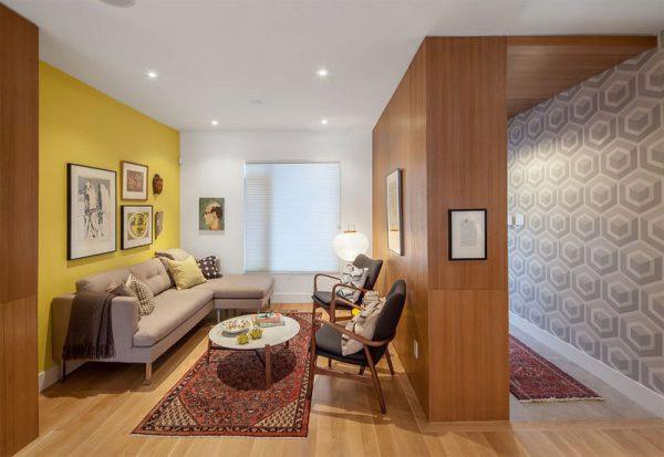 Mẫu thiết kế phòng khách nhỏ đẹp 5
