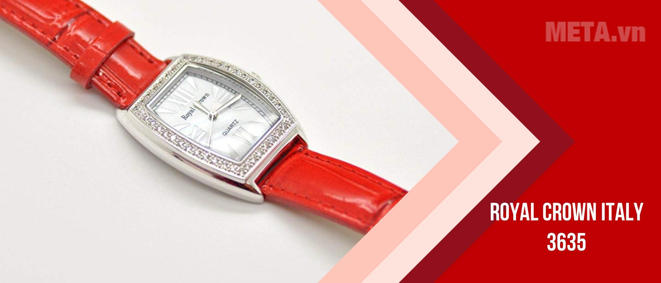 Đồng hồ nữ chính hãng Royal Crown Italy 3635
