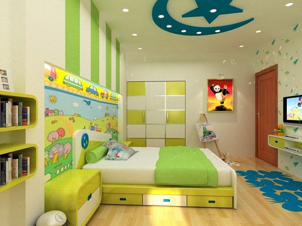 Mẫu trang trí phòng ngủ cho bé trai đẹp 1