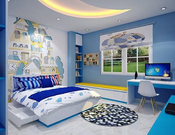 Mẫu trang trí phòng ngủ cho bé trai đẹp 2