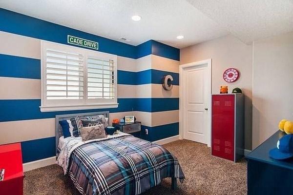 Mẫu trang trí phòng ngủ cho bé trai đẹp 22