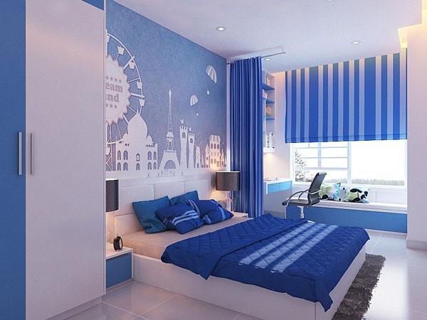 Mẫu trang trí phòng ngủ cho bé trai đẹp 3