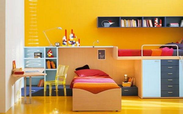 Mẫu trang trí phòng ngủ cho bé trai đẹp 5