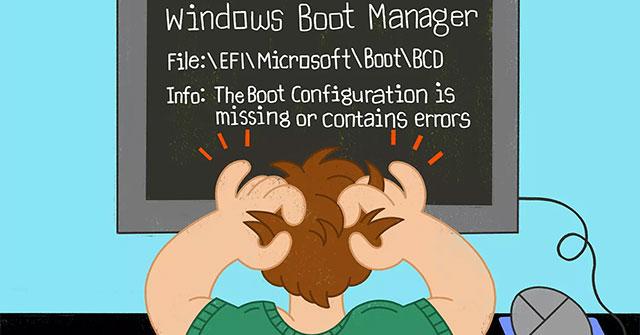 Cách build lại BCD trong Windows