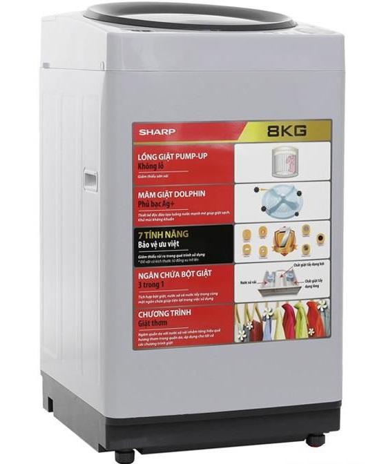 Máy giặt Sharp U78GV-H