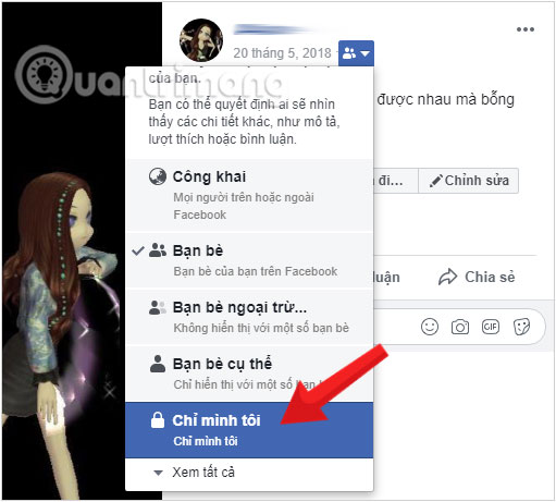 Cách ẩn ảnh đại diện Facebook - Ảnh minh hoạ 6