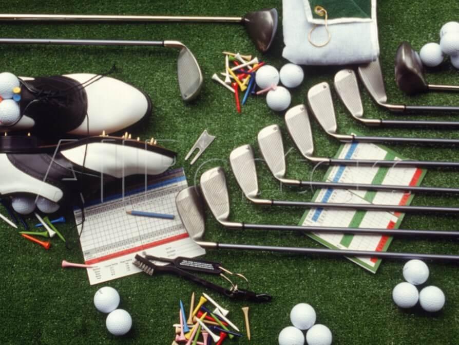 Dụng cụ là thứ rất quan trọng trong môn thể thao golf