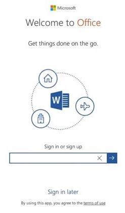 Đăng nhập vào tài khoản Microsoft hiện tại