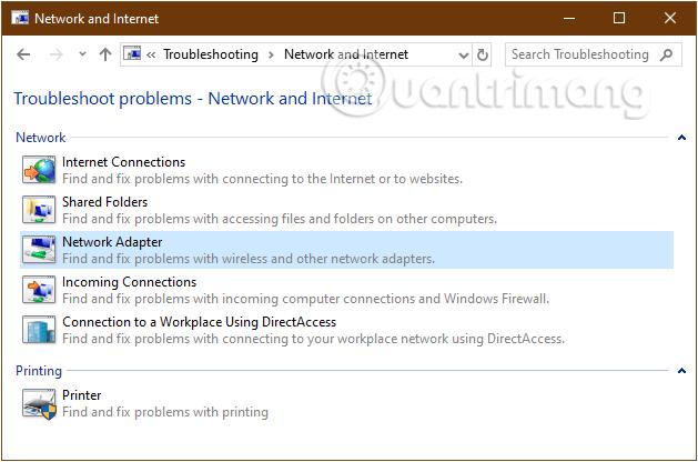 Hướng dẫn sửa lỗi mạng máy tính bị chấm than kim cương