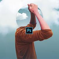 Cách ghép hình theo phối cảnh trên Photoshop