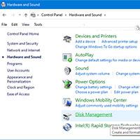 Cách thêm Disk Management vào Control Panel trong Windows 10/8/7