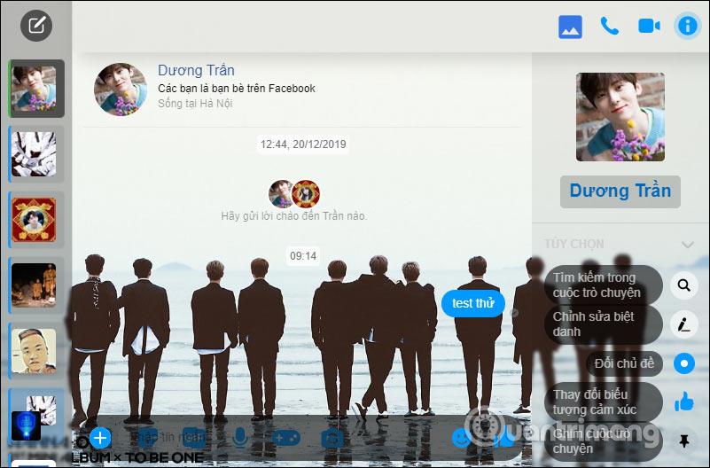 Hướng dẫn đổi hình nền Facebook Messenger - Ảnh minh hoạ 7