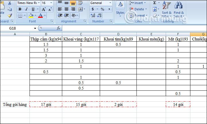 Cách tự động tạo viền ô có giá trị trong Excel - Ảnh minh hoạ 5