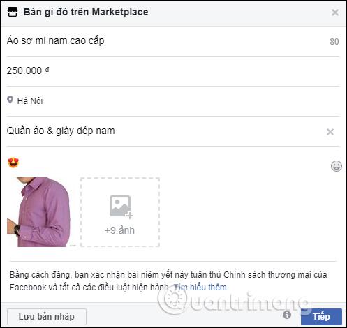Cách bán hàng trên Facebook cá nhân - Ảnh minh hoạ 3