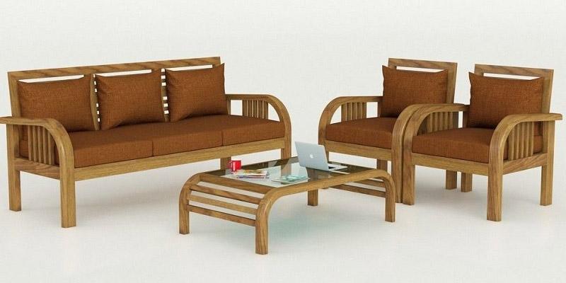Bàn ghế gỗ phòng khách đẹp 8