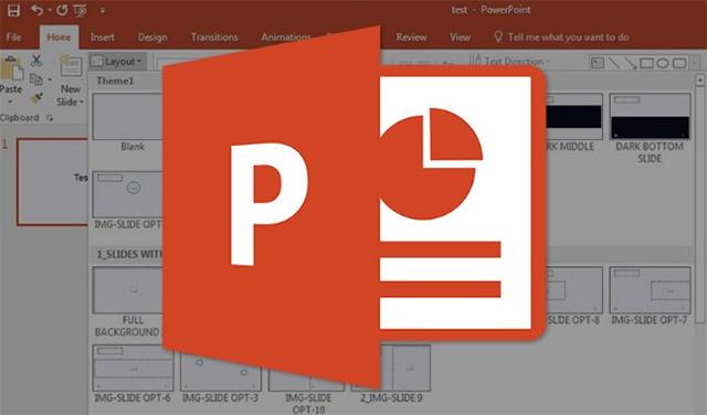 Cách làm mờ chữ xuất hiện trong PowerPoint