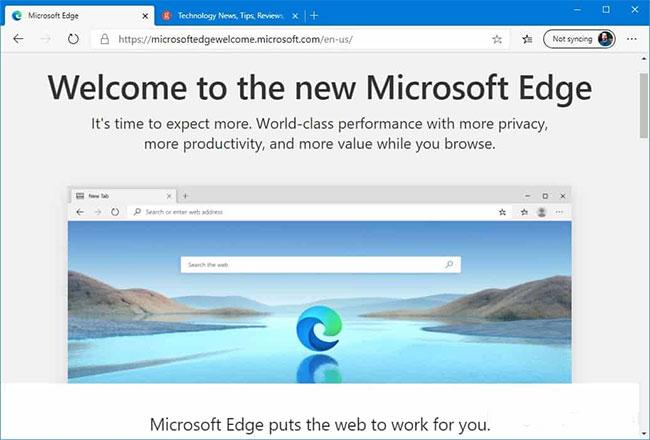 Start using New Edge