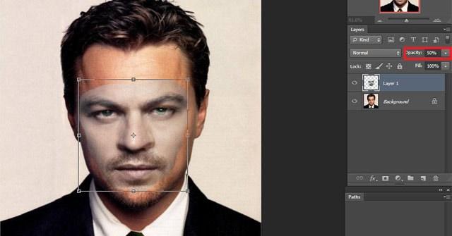 Cách cắt, ghép mặt trong Photoshop nhanh và đơn giản