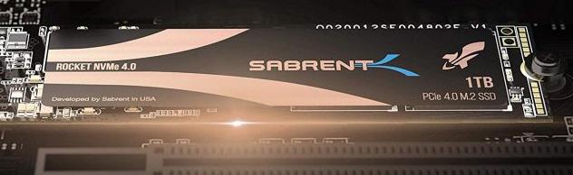 Sabrent Rocket NVMe 4.0 1TB