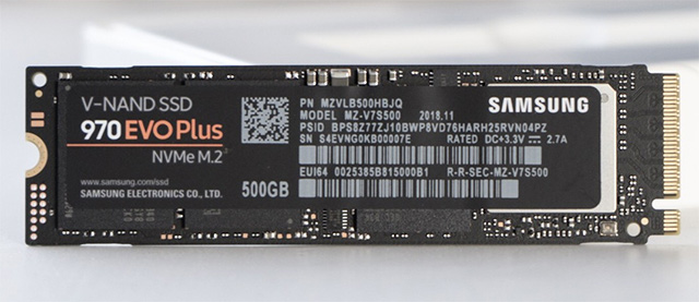Samsung 970 EVO Plus 500GB